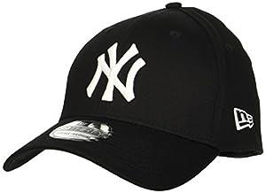New Era 10145638 - Casquette de Baseball - Homme - Noir (Black) - Large (Taille fabricant: M/L)