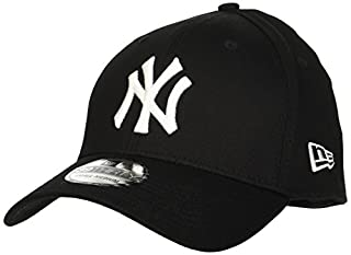 New Era MLB Basic NY Yankees 39THIRTY Stretch Back Black Casquette Homme, Noir, FR : S-M (Taille Fabricant : S-M) (B003I62Q0K) | Amazon Products