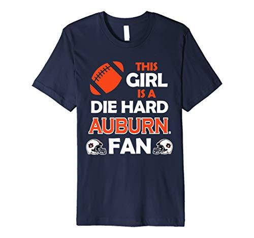 Auburn Damen T-shirt (Auburn Tigers Die Hard Auburn Fan T-Shirt - Apparel)