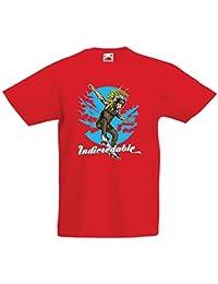 lepni.me Camiseta para Niño/Niña Indicredable - Diseño de monopatín, Solo para