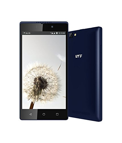 LYF WIND 7S - Dual Sim 4G VoLTE (Blue, 2GB RAM, 16GB ROM) with Gesture Unlock & Android 6.0 Marshmallow