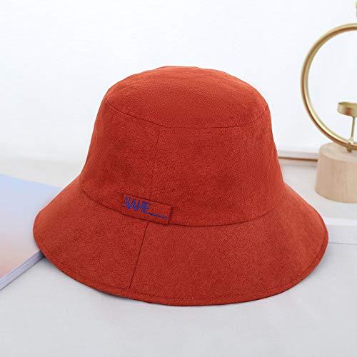 sdssup Fisherman Hat Womens Season Warm Hat Womens Tidal Hat M904-Brick Red (Womens Hats Warm)