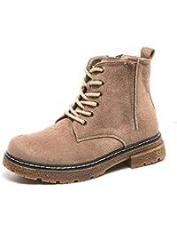 3134d03e031 LIANGXIE Botín de Mujer Botines de otoño e Invierno Zapatos de Mujer de  Europa y el Reino Unido Inglaterra Botines Martin Boots Botines…