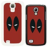 dc marvel supereroe COMIC Minimal CUSTODIA COVER per Samsung no.22 - Deadpool - G1052 - Nera, Samsung Galaxy S4 Mini i9190