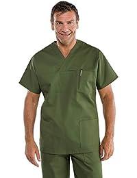Isacco - Blouse médicale vert militaire à enfiler