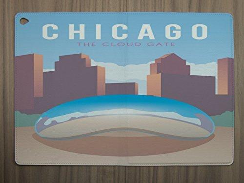 LEotiE SINCE 2004 Tablet Schutz Hülle passend für Ipad Air 2 Reisen Küche Chicago USA Chicago Küche