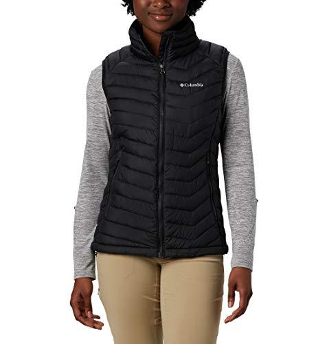 Columbia Powder Lite Vest, Gilet Donna, Nero (Black), L