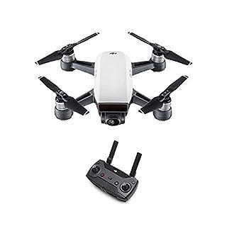 DJI Spark - Mini-Drohne + Remote Fernbedienung, max. Geschwindigkeit von 50 km/h, bis zu 2 km Übertragungsreichweite, 1080p Videos mit 30 fps und 12 Megapixel Fotos - Weiß (B07D7GK52X) | Amazon price tracker / tracking, Amazon price history charts, Amazon price watches, Amazon price drop alerts