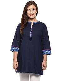 Alto Moda By Pantaloons Women's Cambric Kurta