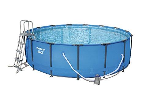 Bestway Steel Pro MAX Pool Set 457x122cm  Stahlrahmenpool-Set mit Filterpumpe und Zubehör