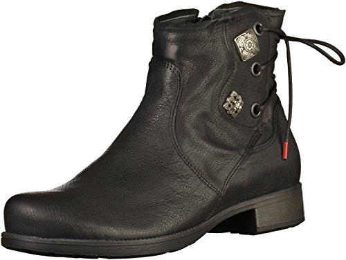 Think! Denk, Desert Boots Femme Noir (Schwarz 00)