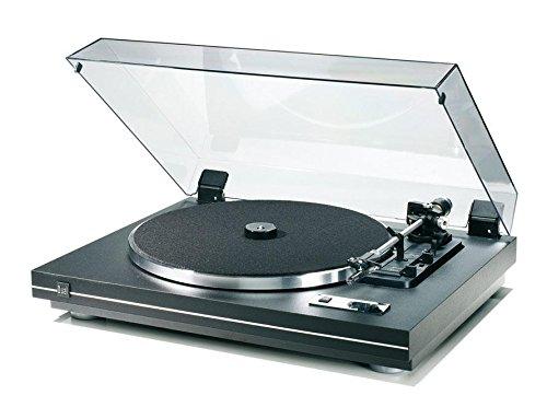 dual stereoanlage mit plattenspieler Dual CS 455-1 Vollautomatischer Plattenspieler (DC-Motor, Kardan-Tonarm, OMB 10 Magnet-Tonabnehmer) schwarz