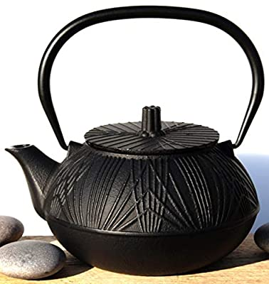 GOTO Osaka Théière en Fonte Noir 0,8 l