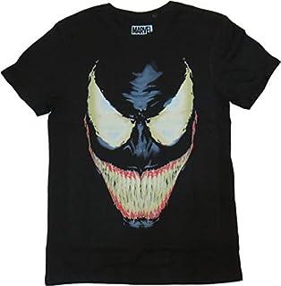 Marvel Carnage - T-shirt - Imprimé - Col rond - Manches courtes - Homme - Noir - Taille: M (B00PDG85B2) | Amazon Products