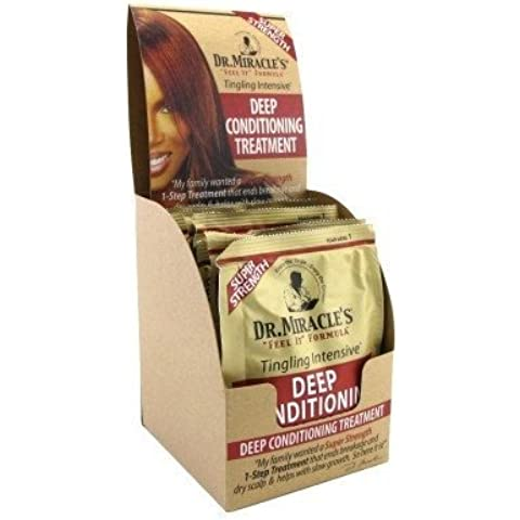 Dr. Miracles Super Deep Condition Pack 1.7oz (12 Pieces) by Dr. Miracles