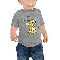 Disney Baby Boys Lion King T-Shirt, Grey (Dark Grey), 12-18 Months