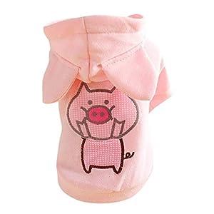 Handfly Sweat À Capuche pour Chien pour Petits Chiens Chiot Piggy Manteau Pulls De Chien Hiver Chien Hoodies Manteau Vêtements Pull Pull Jumper pour Petits Et Moyens Chiens