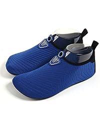 LANSEYAOJI Zapatos de Agua Hombres Mujer Niños Verano Secado Rápido Aqua  Calzado Ligeros Transpirable Zapatillas Snorkel Bucear Surf Swim… 27ce44a9f57