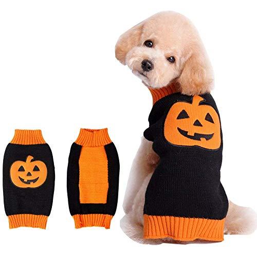 ustier Kürbis Kleidung Halloween Hundemantel Hundekostüm Haustiere Verkleidung Kürbis Cosplay Kleidung für Hunde Katzen ()