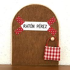 La auténtica puerta mágica del Ratoncito Pérez ♥ De regalo una preciosa bolsita.