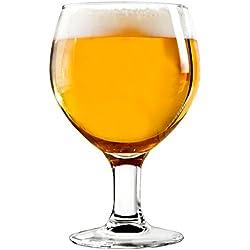 Copas de cerveza (6 unidades) Hostelvia - toscana 41cl.