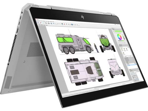 HP ZBook Studio x360 G5 2ZC63EA Notebook, 15,6″, Touch, Ultra HD, kaufen  Bild 1*