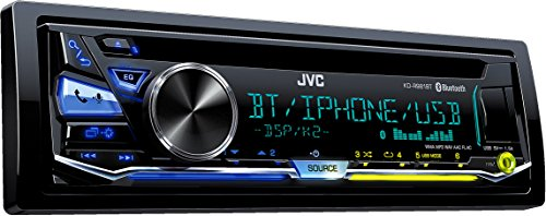 JVC KD-R981BT USB/CD-Receiver mit Bluetooth inklusiv A2DP schwarz