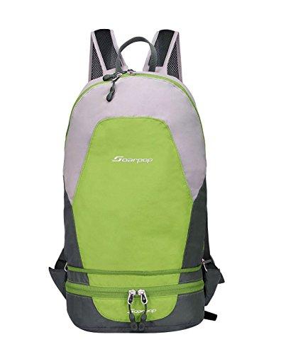 Imagen de winkee bb4325mcg  conjuntos de peso ligero al aire libre senderismo  y bolsa de cintura pequeña verde
