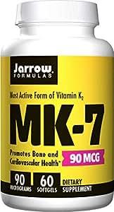 Jarrow Formulas MK-7 90 mcg, 60 Count