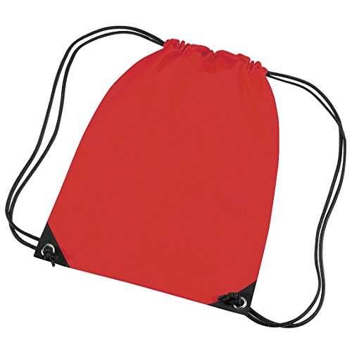 BagBase , Kinder Kinderhandtasche Bright Red