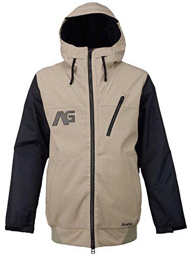 analogico-chaqueta-de-la-codicia-true-negro-color-blanco-roto-tamano-xs