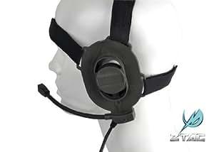 Z-Tactical Bowman Style Elite II Headset Foliage Green Airsoft 2 Way Radio