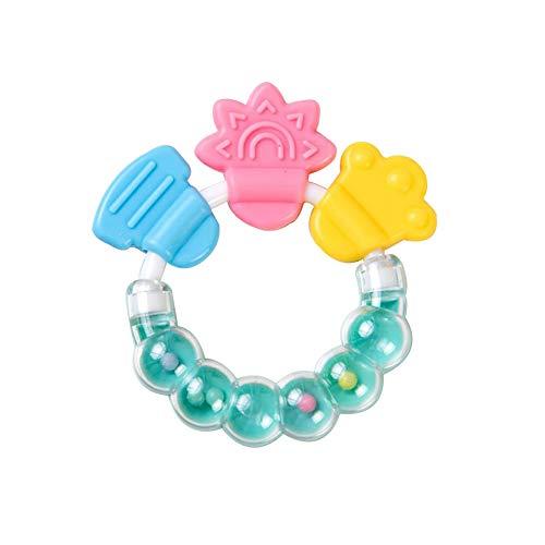 TrifyCore Weiches Plüsch Cartoon-Eulen-Form Rasseln Spielzeug-Baby-Hand Rattles Spielzeug-Plüsch-Bell-Spielzeug für neugeborenes Kind-Entwicklungsspielzeug Rosa 1PC
