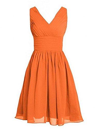 Leader of the Beauty Damen Kleid Orange