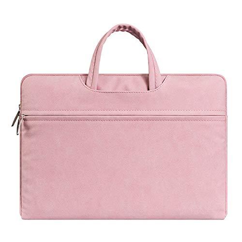ZWJ Laptop Tasche Durable sleeve Notebook-Tasche Multifunktions Wasserdicht für Reise,Pink,15.6inch (Chromebook 2 Notebook-tasche. Toshiba)