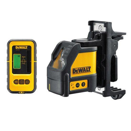 Dewalt DW088KD-XJ Livella laser a croce con ricevitore DE0892