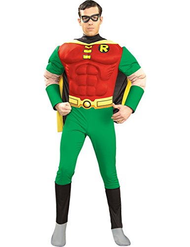 Robin-muscular-pecho-traje-de-superhroe