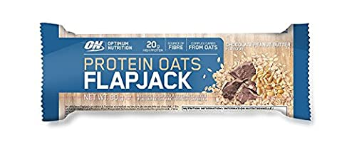 Optimum Nutrition Protein Oats Flapjack - Chocolate Peanut Butter, 12 Pack