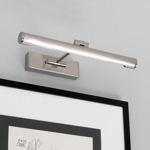 Astro – Goya 365 8 W Bild Licht gebürstetem Nickel-Finish 0528 (Gebürstetem Nickel Finish Wall)
