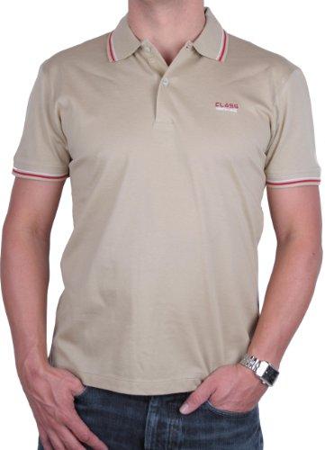 Roberto Cavalli Herren Poloshirt Polo Viele Farben und Größen (XXL, Beige)