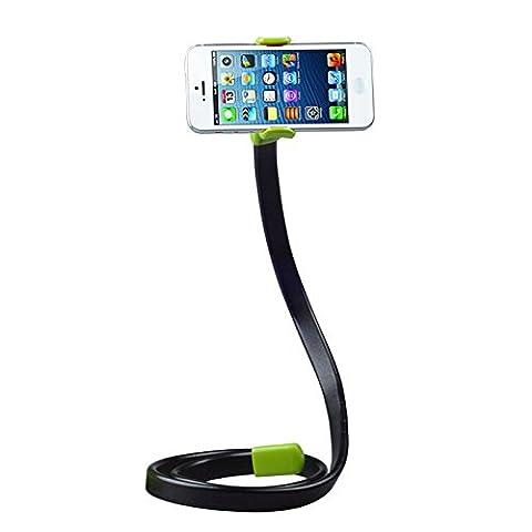 Support de Smartphone - BADALINK Support en Forme de Serpent Flexible avec Pince à Ressort Design Créatif pour Téléphone Portable
