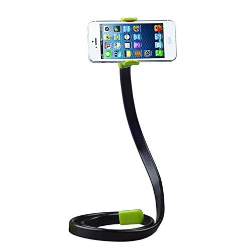 support-de-smartphone-badalink-support-en-forme-de-serpent-flexible-avec-pince-a-ressort-design-crea