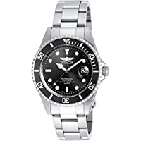 Invicta Unisex-Adult Quartz Watch, Analog Display and Stainless Steel Strap 8932OB