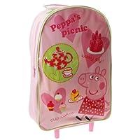 Trade Mark Collections Peppa Pig Picnic Wheeled Bag (Pink)