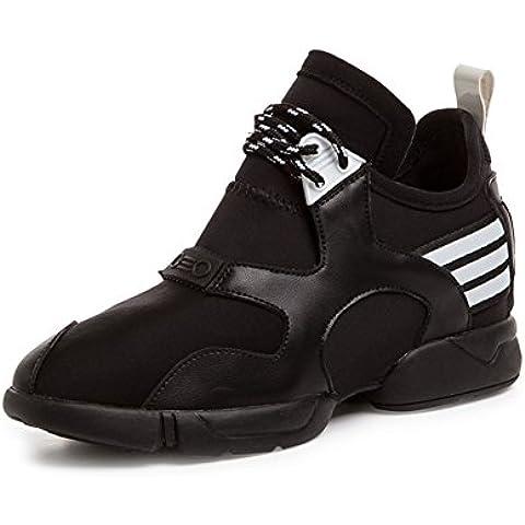 Scarpe casual pizzo coreano/Sneakers alta bassa in autunno/scarpe da corsa traspirante/Scarpe da donna