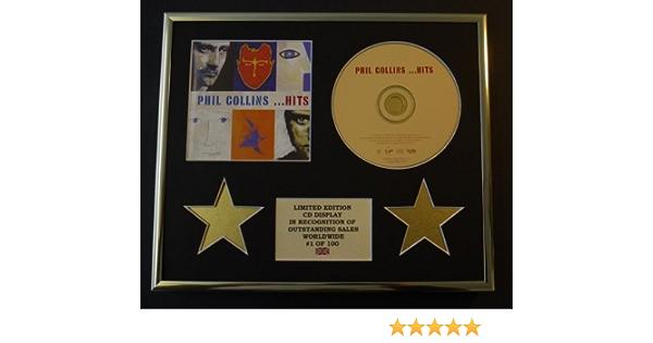 Phil Collins Cd Display Limitierte Auflage Echtheitszertifikat Hits