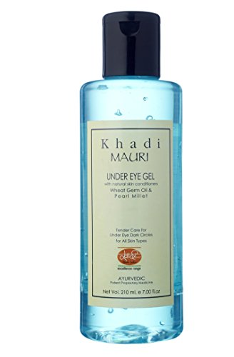Khadi Under Eye Gel - Treats Dark Circles & Improves Skin Tone - 210 ml - Herbal & Ayurvedic