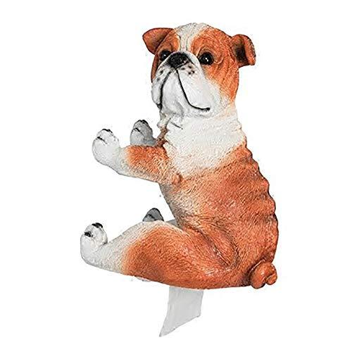 Wjsw porta rotolo di carta cucciolo carino decorazione murale scatola porta fazzoletti