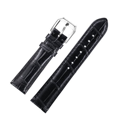 larghe-esotici-classici-cinturini-in-pelle-di-coccodrillo-23mm-degli-uomini-in-nero-con-fibbia-ad-ar