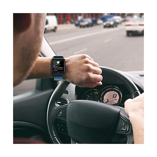 Ayete Smartwatch Fitness Tracker con frecuencia cardíaca Monitoreo de la presión Arterial Salud Deporte Reloj… 5